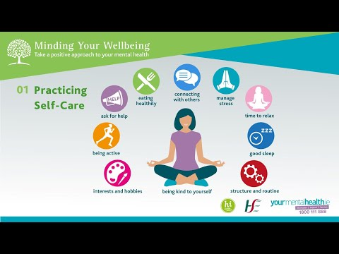 Minding Your Wellbeing Session 1: Practicing Self Care