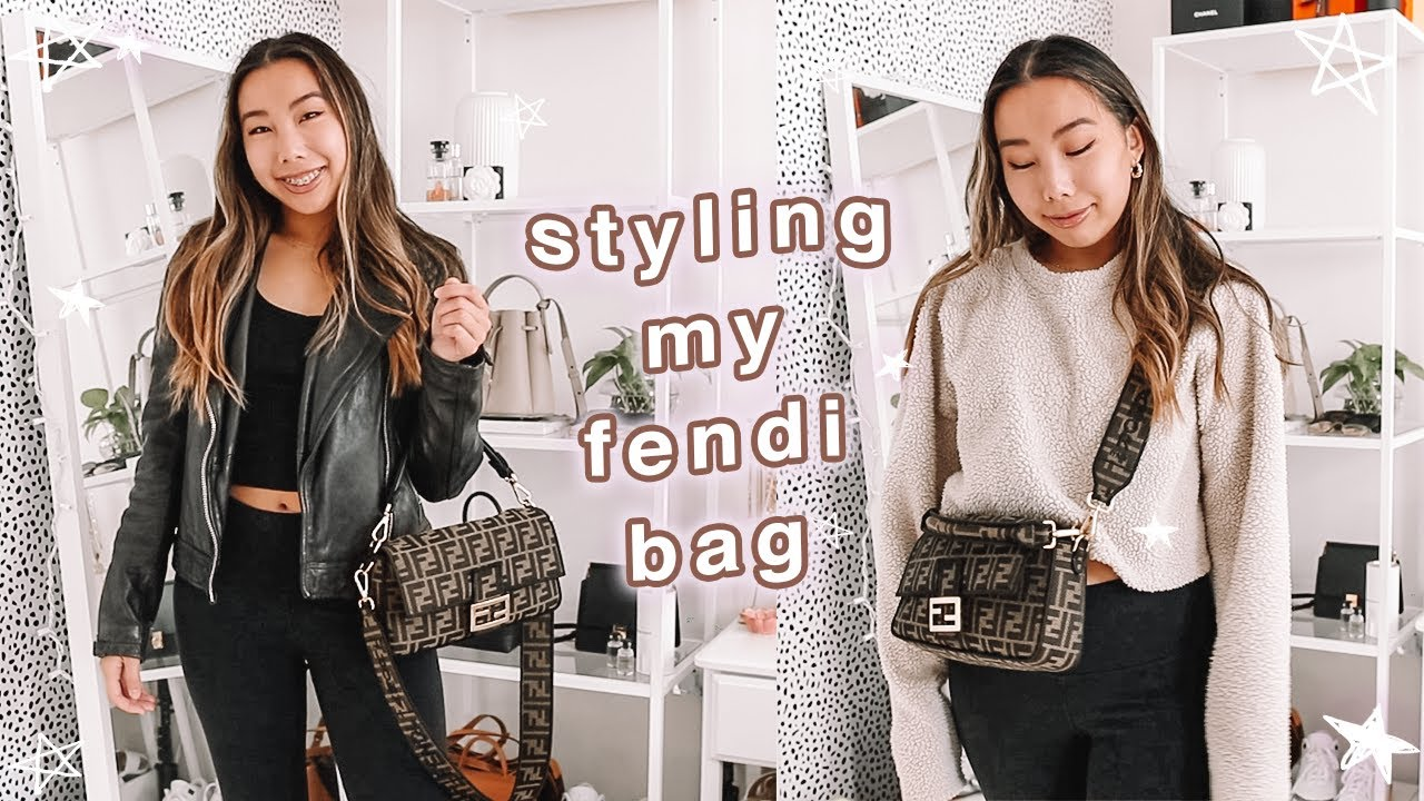 styling my fendi baguette bag + fall and winter outfit ideas