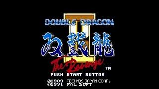 Double Dragon 2 THE RevengeHARDEST LEVELSega Mega Drive Genesis