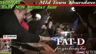 BABY NON birthday bash tokyo reggae DeeJay CACTUS