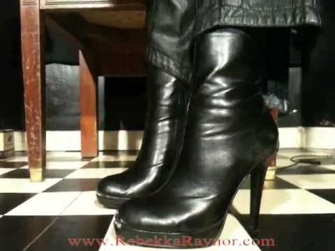 Cogida. splendid leather skirt spanked glad you