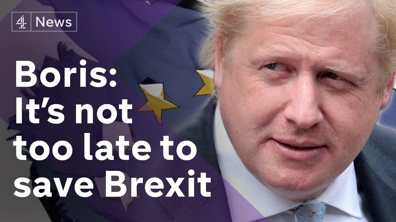 Boris Johnson delivers resignation speech as Theresa May faces Brexit backlash