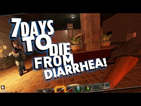 Mindcrack 7 Days To Die - E01 7 Days To Die From Diarrhea!