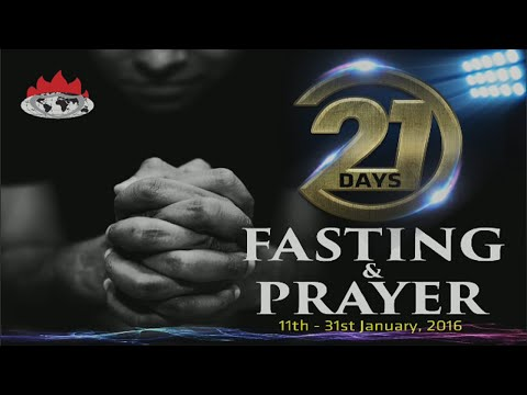 Day 19: One Night with the King 21 Day Prayer and Fasting 2016