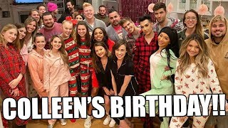 COLLEEN BALLINGER'S BIRTHDAY PARTY!!!