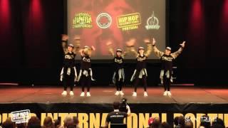 D.Box Crew | 7º Lugar Divisão Varsity @ Hip Hop International Portugal 2015 | Finais
