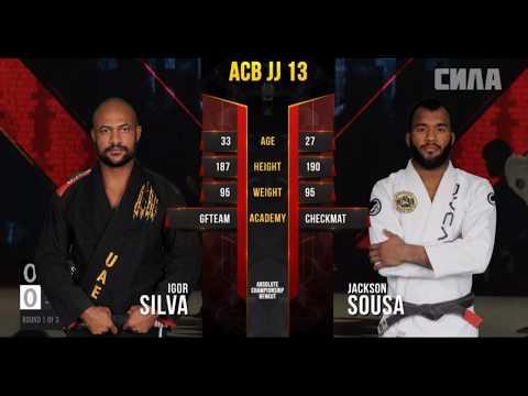Igor Silva vs Jackson Sousa ACB JJ 13