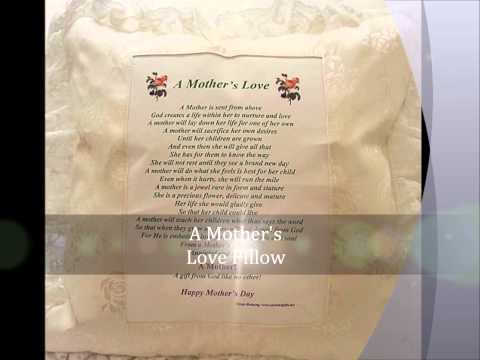 """Mother's Day """"A Mother's Love"""" Poem for a great Mom """"Anointed Gifts"""""""