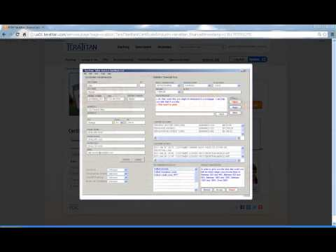 Customer Interaction Manager Financial UI Demo