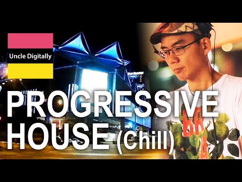 Chill Out Trance Progressive - Singapore Cityscape (Quiet Night Drive)