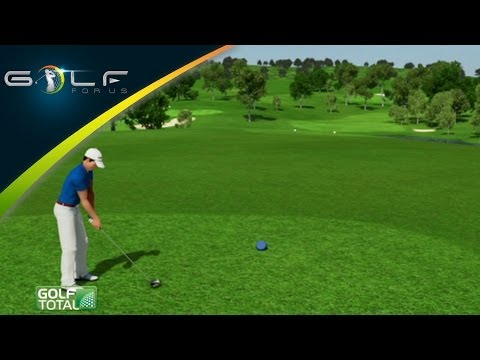 Golf Teaching – Fade & Draw (3D Animation – German)