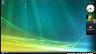 Windows Vista shutdown and startup on VMware Workstation 9.0.0 (NO MUSIC)