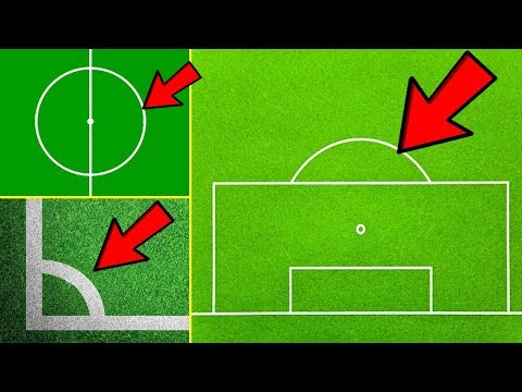هل تعلم لماذا توجد هذه الدوائر في ملعب كرة القدم؟ مهمة جدا وليس كما تعتقد..!