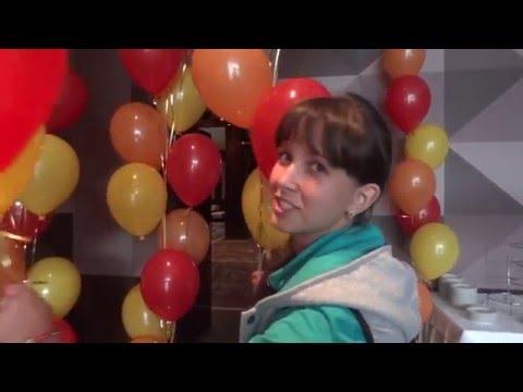 Гелиевые шары под потолок купить с доставкой недорого