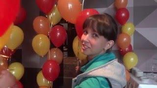 Оформление воздушными шарами. День рождение компании. ЕВРАЗ-Ванадий Тула.(, 2016-01-08T13:56:27.000Z)