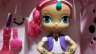 Відео для дітей. Подарунки від Микола: лялька Шиммер і трансформер Дракулаура