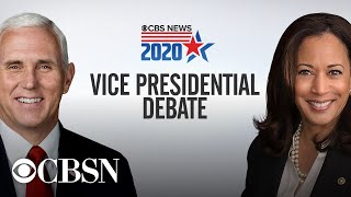 Watch full 2020 VP debate: Mike Pence, Kamala Harris face off in Utah