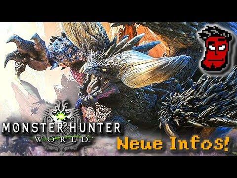 Monster Hunter World: Nergigante, Neue Monster, TGS Infos / Gameplay [German Deutsch]