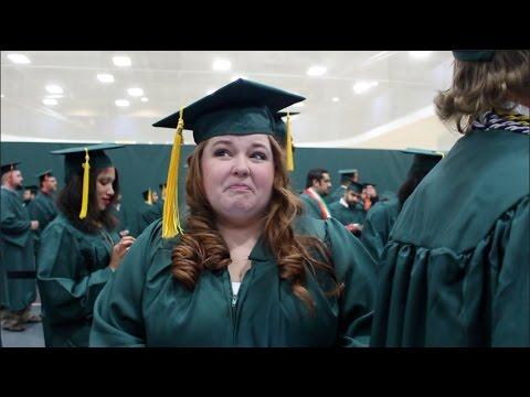 "Emotional Road to Graduation ""This is it!"" - Wright State University"