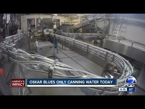 Oskar Blues Brewery halting beer production to can water for Houston