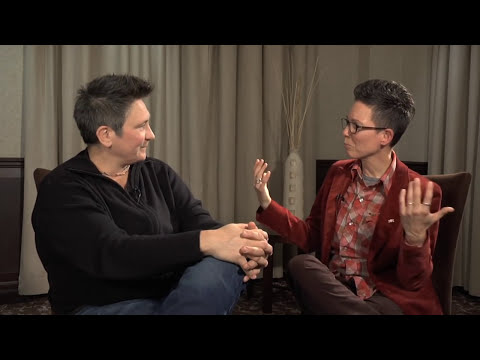 K D lang on her new cd and being butch
