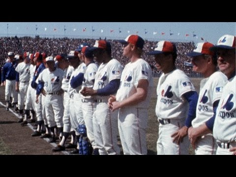 The Montreal Expos play their first-ever home game in 1969