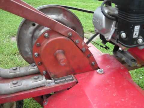Field Fix For Roper Front Tine Tiller