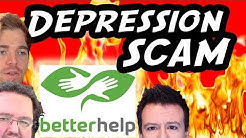BIG SCAM - Youtubers Shilling for BetterHelp Online Therapy Scam