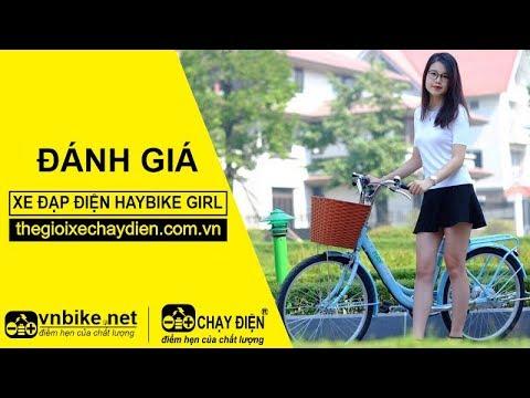 Đánh giá xe đạp điện Haybike Girl