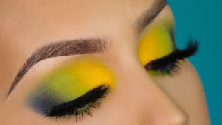 Colorful eyeshadow makeup tutorial