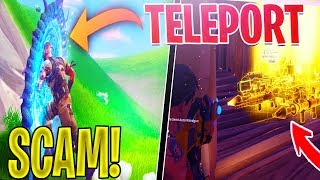 *NEW SCAM* How To Do The TELEPORT SCAM *Scammer Gets SCAMMED For INVENTORY* Fortnite Save The World