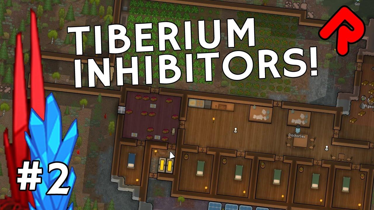 Installing Tiberium Inhibitors! | Let's play RimWorld TiberiumRim mod ep 2