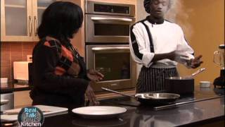 Jamaican Style Boiled Green Bananas And Sauteed Spinach.wmv