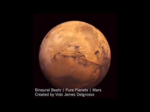 Binaural beats: Pure Planets - Mars (willpower, humor, energ