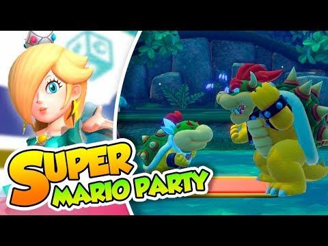 ¡Colaboración familiar! - 04 - Super Mario Party (Switch) Dsimphony