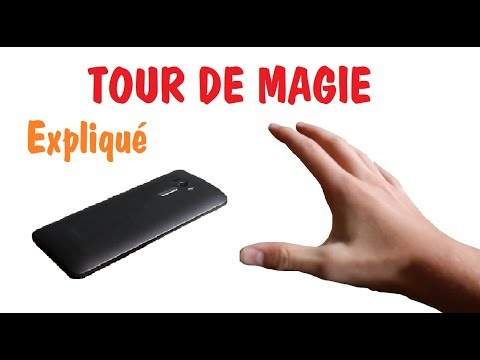 tour de magie avec un telephone