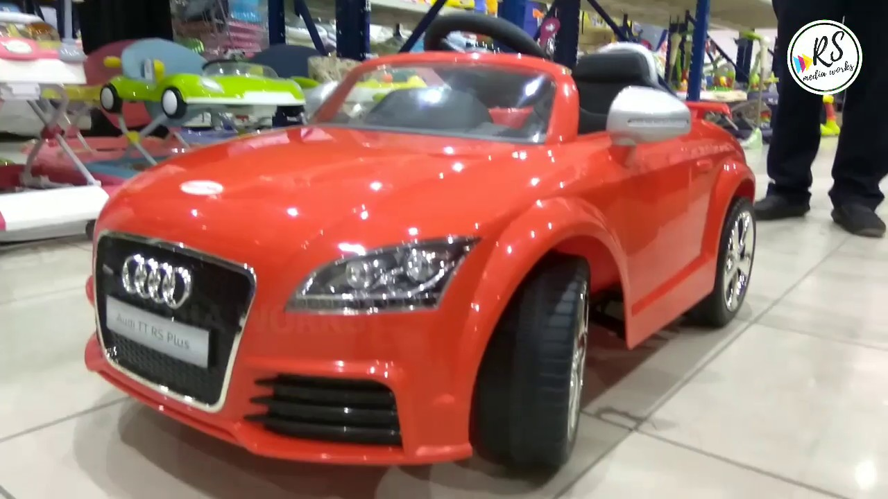 AUDI TT RS Plus Electric Toy Car Assembling YouTube - Audi electric toy car