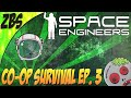 CRASHED MY SHIP! (Space Engineers: Co-op Survival)