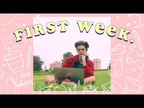 First Week of College ✏️📘 (Vlog.22)