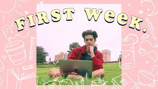 First Week of College ✏️📘 (Vlog.22)
