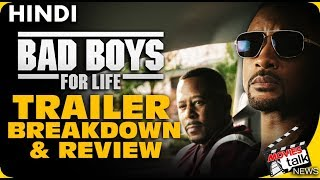 Bad Boys For Life : Trailer Review & Breakdown [Explained In Hindi]