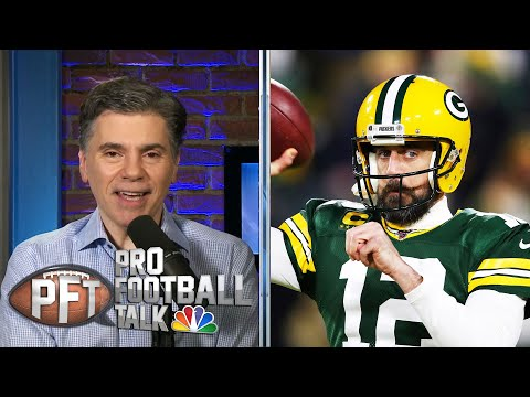 Matt LaFleur thinks Aaron Rodgers will be on Packers for long time | Pro Football Talk | NBC Sports