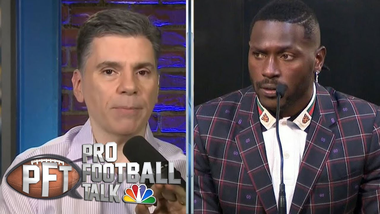 Will Antonio Brown actually hold Raiders WRs accountable? | Pro Football Talk | NBC Sports
