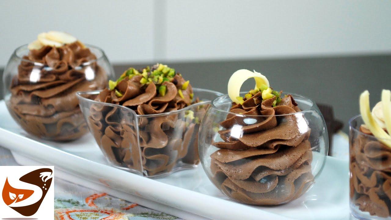 Favoloso Mousse al cioccolato fondente: dolci al cucchiaio veloci e facili  QN31