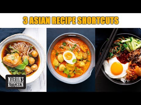 Asian Recipe Shortcuts… 3 Classics Made Easier   #QuarantineCooking #WithMe   Marion's Kitchen