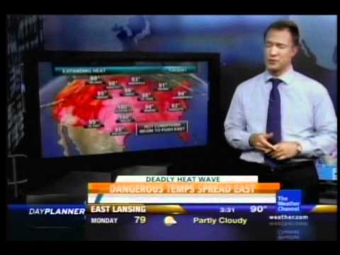 Local Forecast- July 2011 Heat Wave (Part 3)