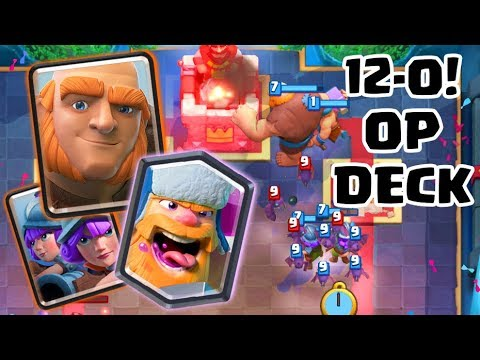 12-0 Grand Challenge Giant 3 Musketeers deck | Clash Royale