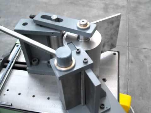 Bending Machine Memoli Alluminium Flat 250x12 Mm Tube