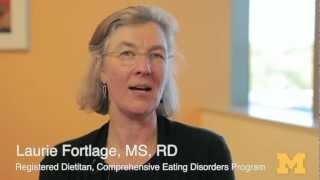 What is the difference between dieting and an eating disorder?