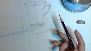 Рисование натюрморта, часть 2. Анна Кошкина.